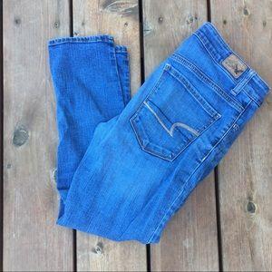 American Eagle Hi-Rise Crop Jegging Jeans